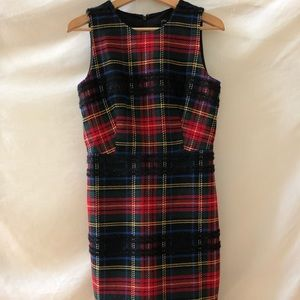 Plaid Tartan J. Crew festive dress!